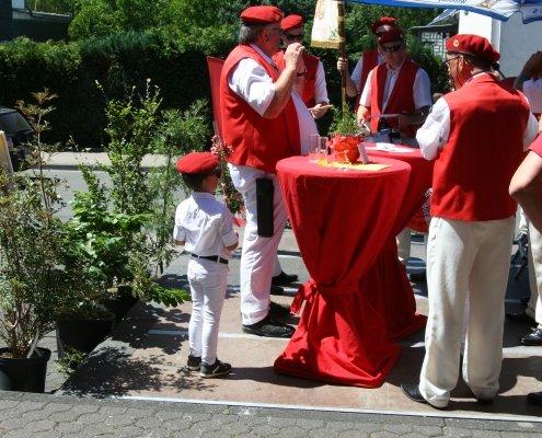Tambourcorps Rot Weiß Kleineichen Sommerfest 2018 Elektro Scheldt