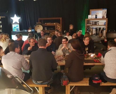 Weihnachtsfeier Elektro Scheldt 2019