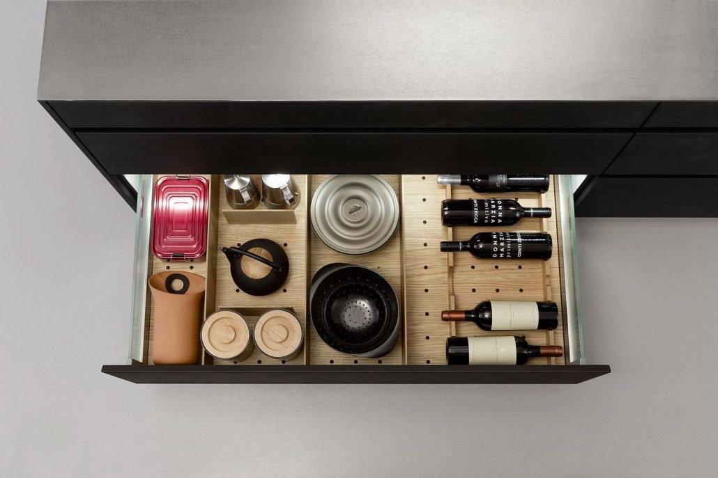 Leicht Küchen Inneneinrichtung Schublade 09