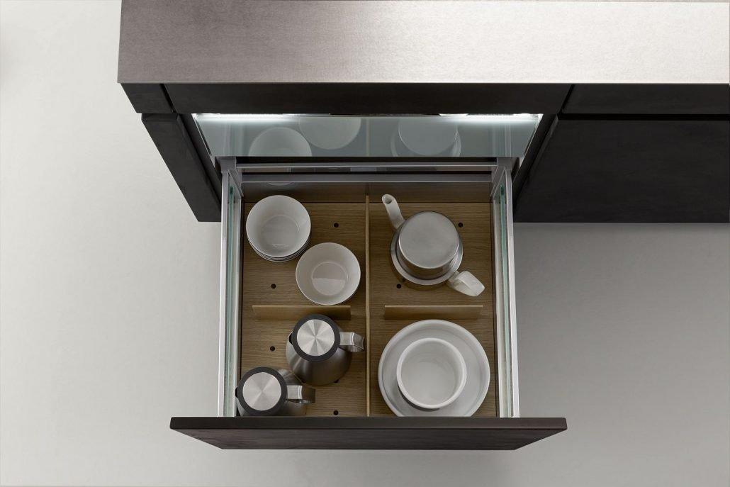 Leicht Küchen Inneneinrichtung Schublade 07
