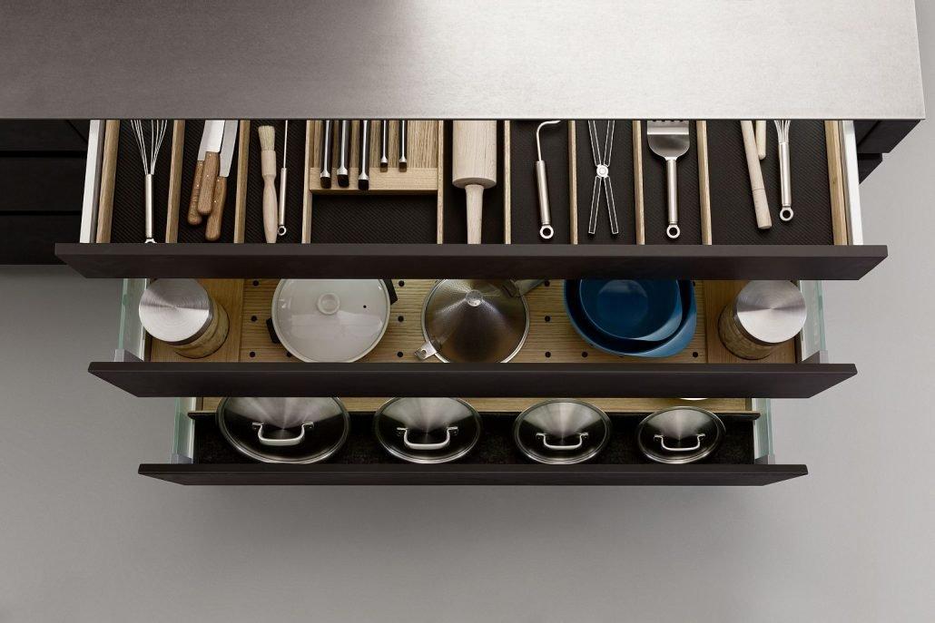 Leicht Küchen Inneneinrichtung Schublade 04
