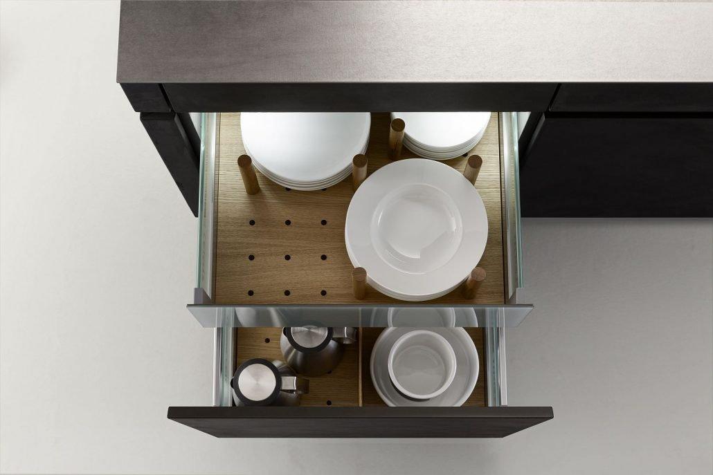 Leicht Küchen Inneneinrichtung Schublade 02