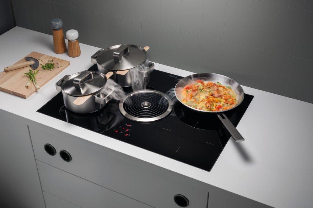 BORA Basic - Kochfeld und Kochfeldabzug in Einem - Elektro Scheldt