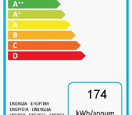 Grundig Edition 70 Kühl-Gefrierkombi Energielabel