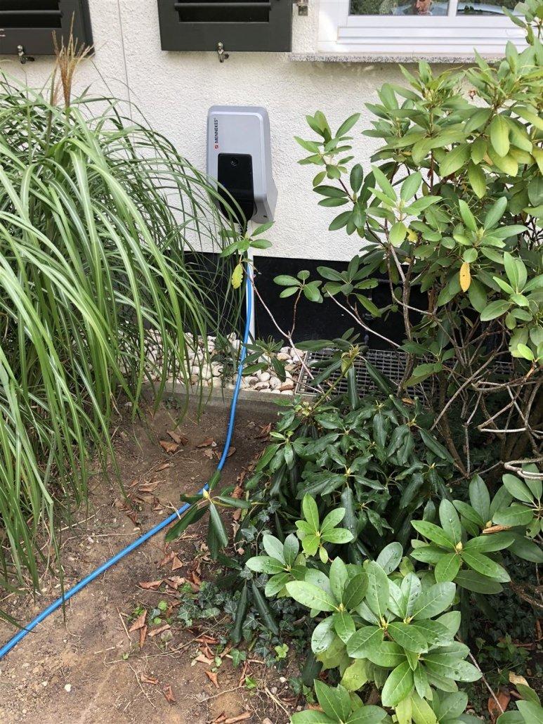 Menneckes Wallbox installiert von Elektro Scheldt