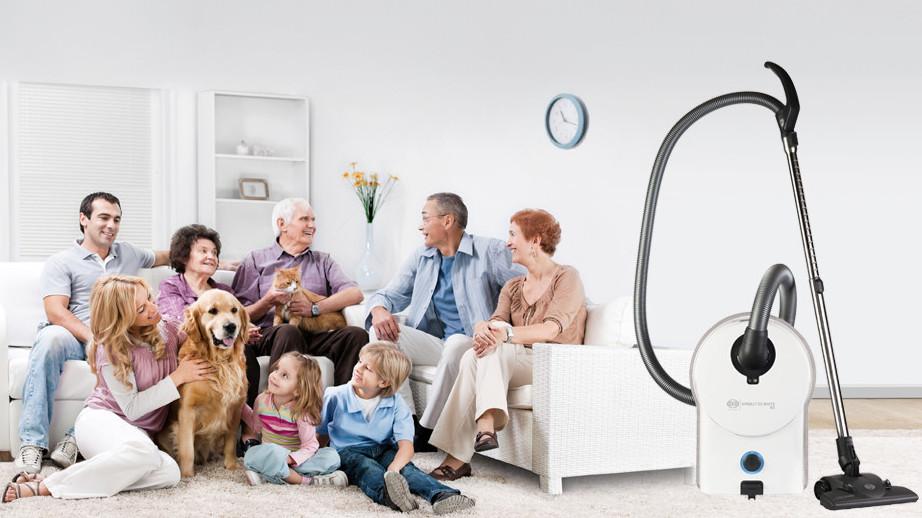 SEBO Garantie zufriedene Kunden - AIRBELT D2 WHITE RD