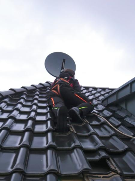 Satelliten Anlage Installation