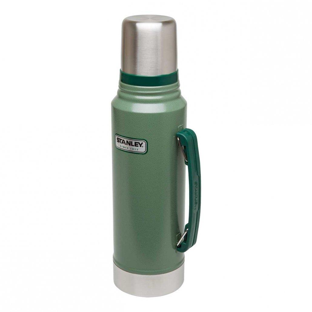 Stanley Classic Vakuum-Flasche, 1 Liter, Hammertone grün