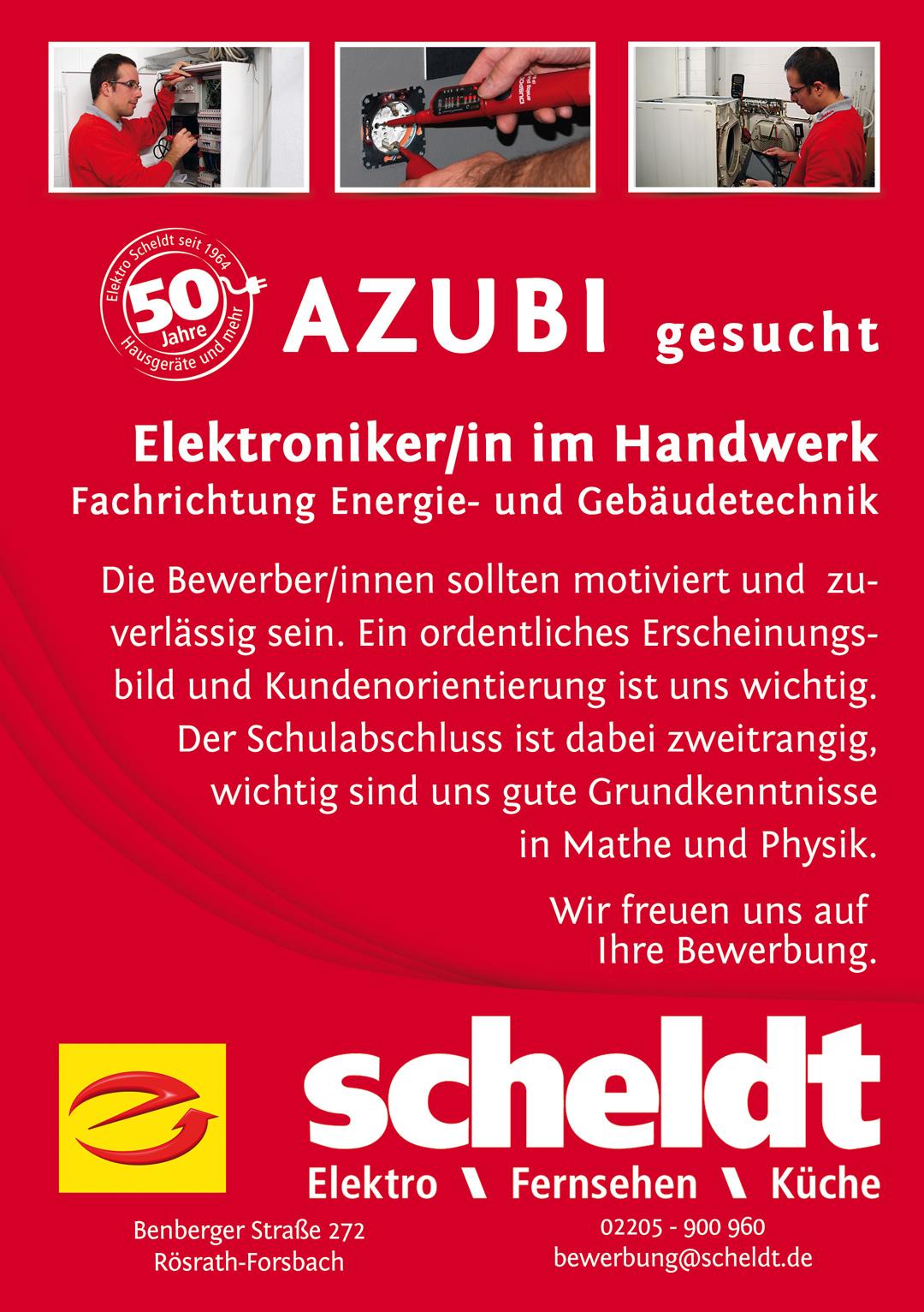 Ausbildung Archive - Elektro Scheldt