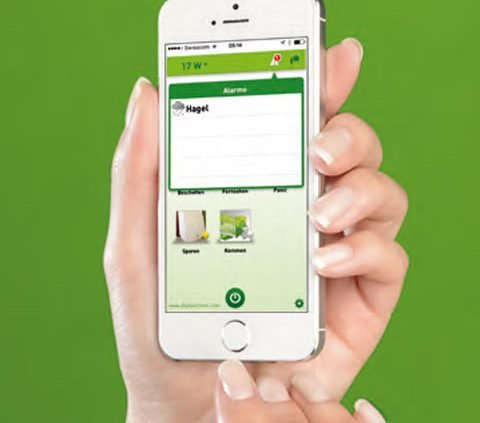 DigitalSTROM - APP auf dem Smartphone