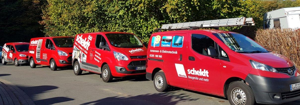 Elektro Scheldt zertifizierter Fachhandels-Kundendienst