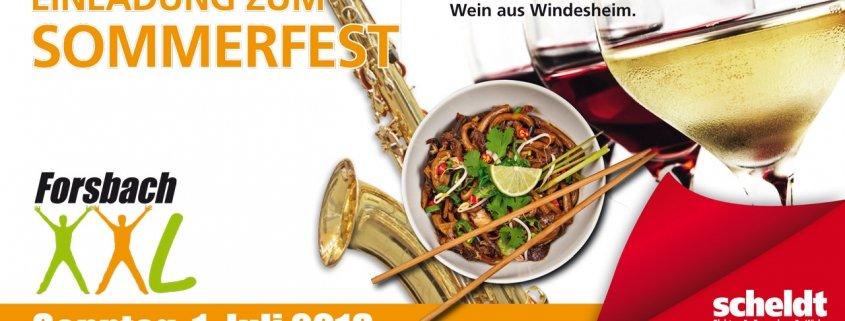 Forsbach XXL 2018 - Einladung zum Sommerfest