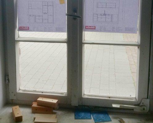 Baustelle Küche Buchmühle Küchenplanung