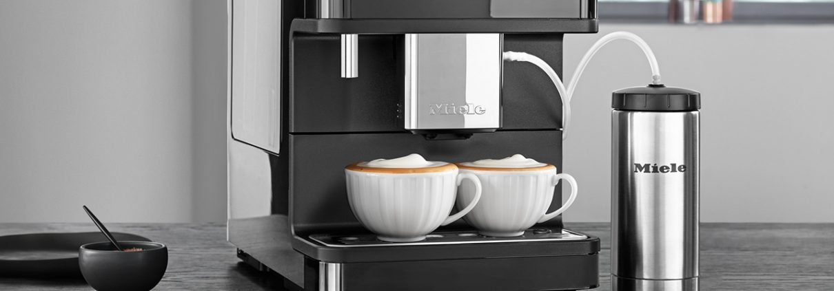 Miele Kaffeevollautomaten Detail
