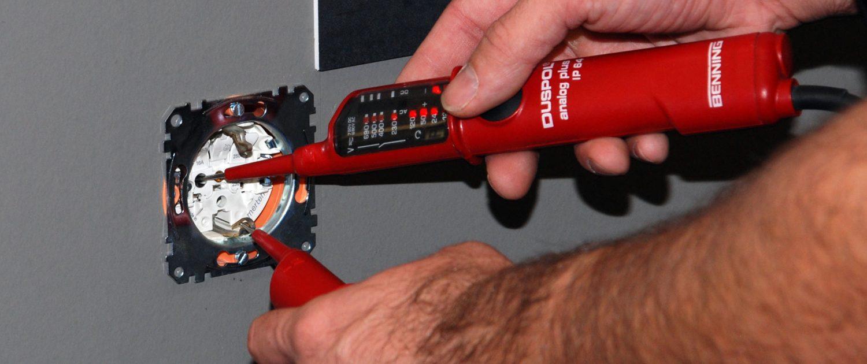 Elektro Scheldt Überprüfung Steckdose