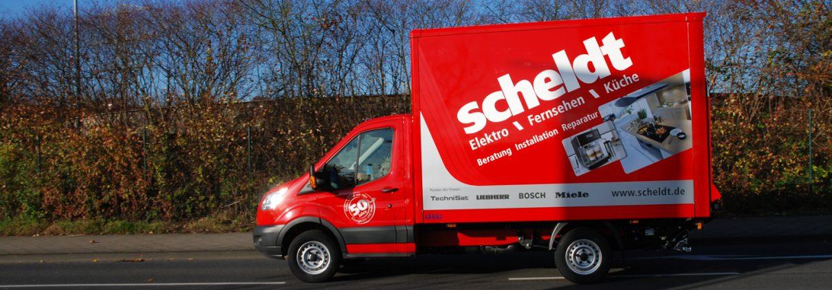 Servicefahrzeug Elektro Scheldt
