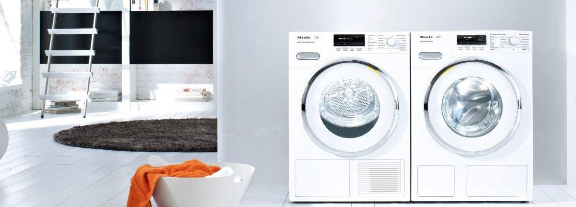 Miele Trockner und Waschmaschine
